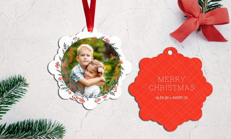 Photo Ornaments from your photo in Ashland, Ohio